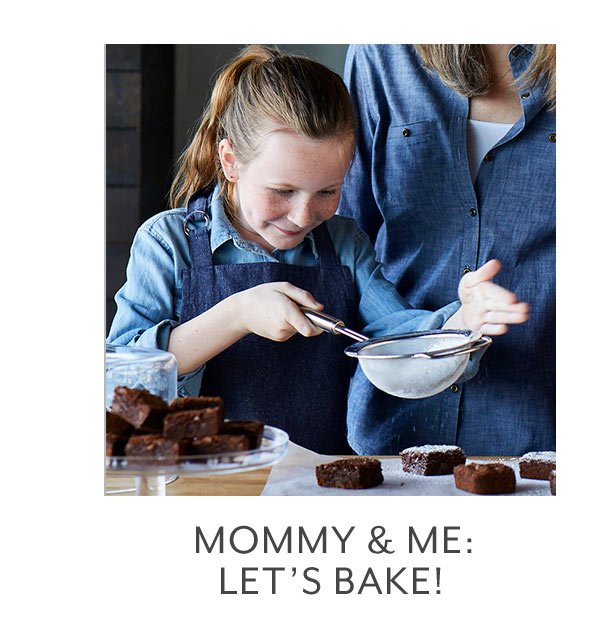 Class: Mommy & Me  Let's Bake!