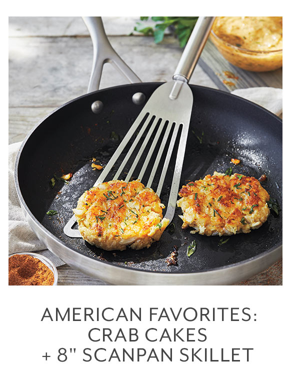 Class: American Favorites  Crab Cakes