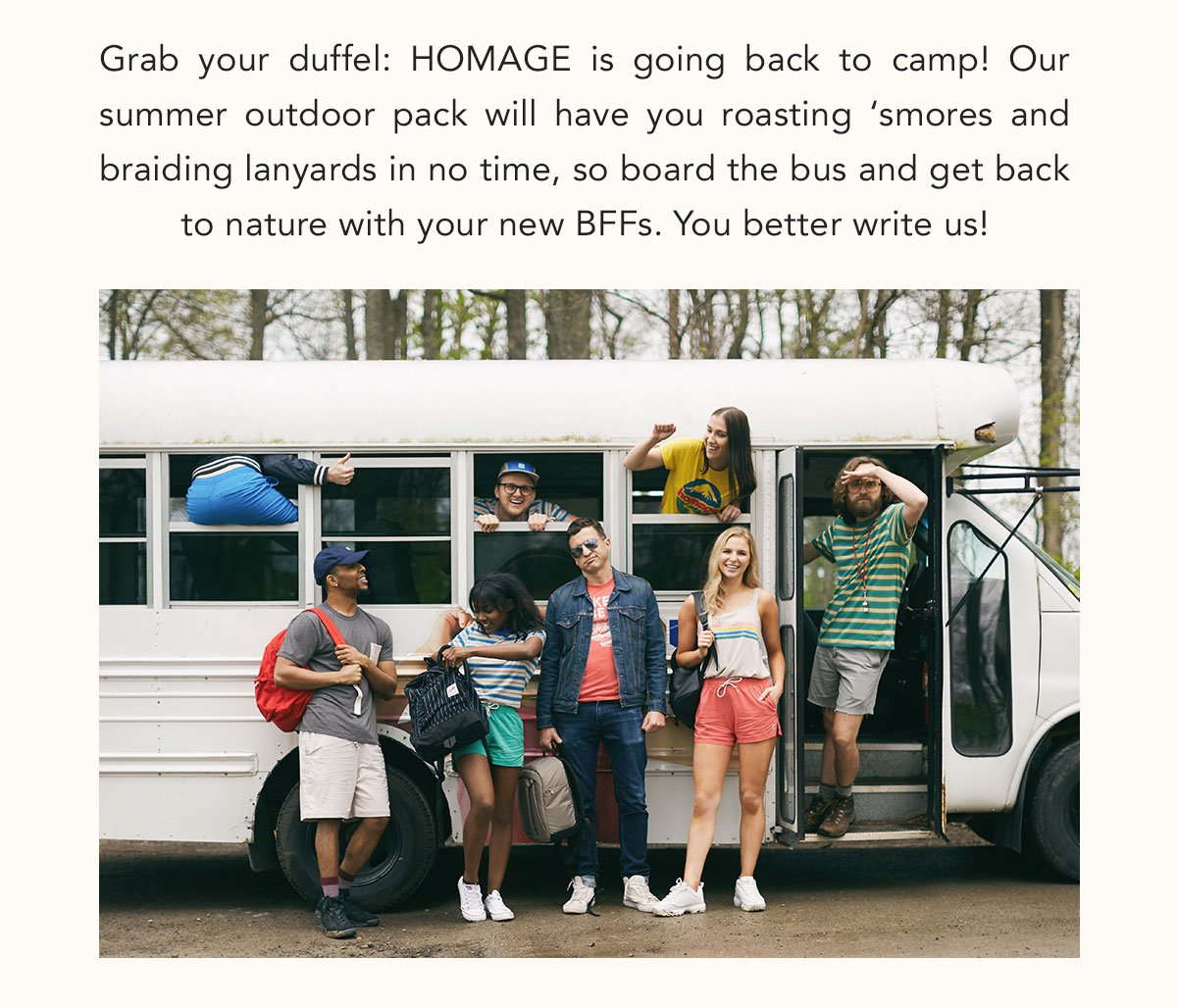 Homage: Back to camp! 🏕️ NEW HOMAGE Summer Outdoor arrivals! | Milled