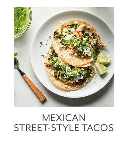 Mexican Style Street Tacos