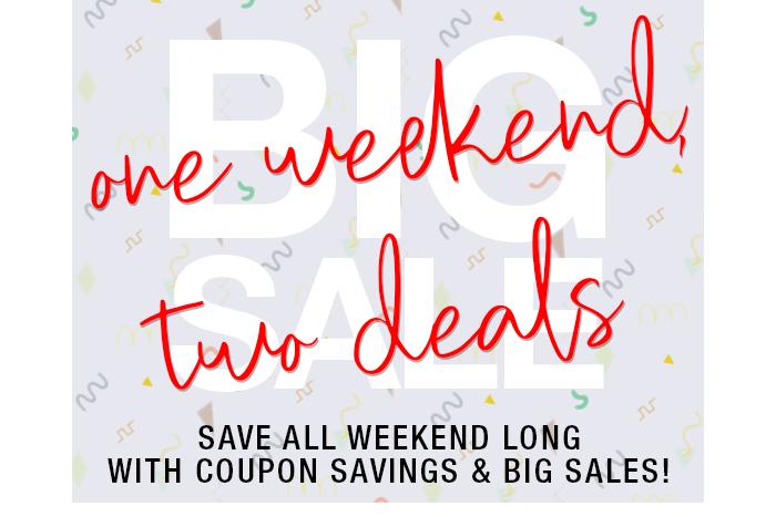 May Weekend Sale