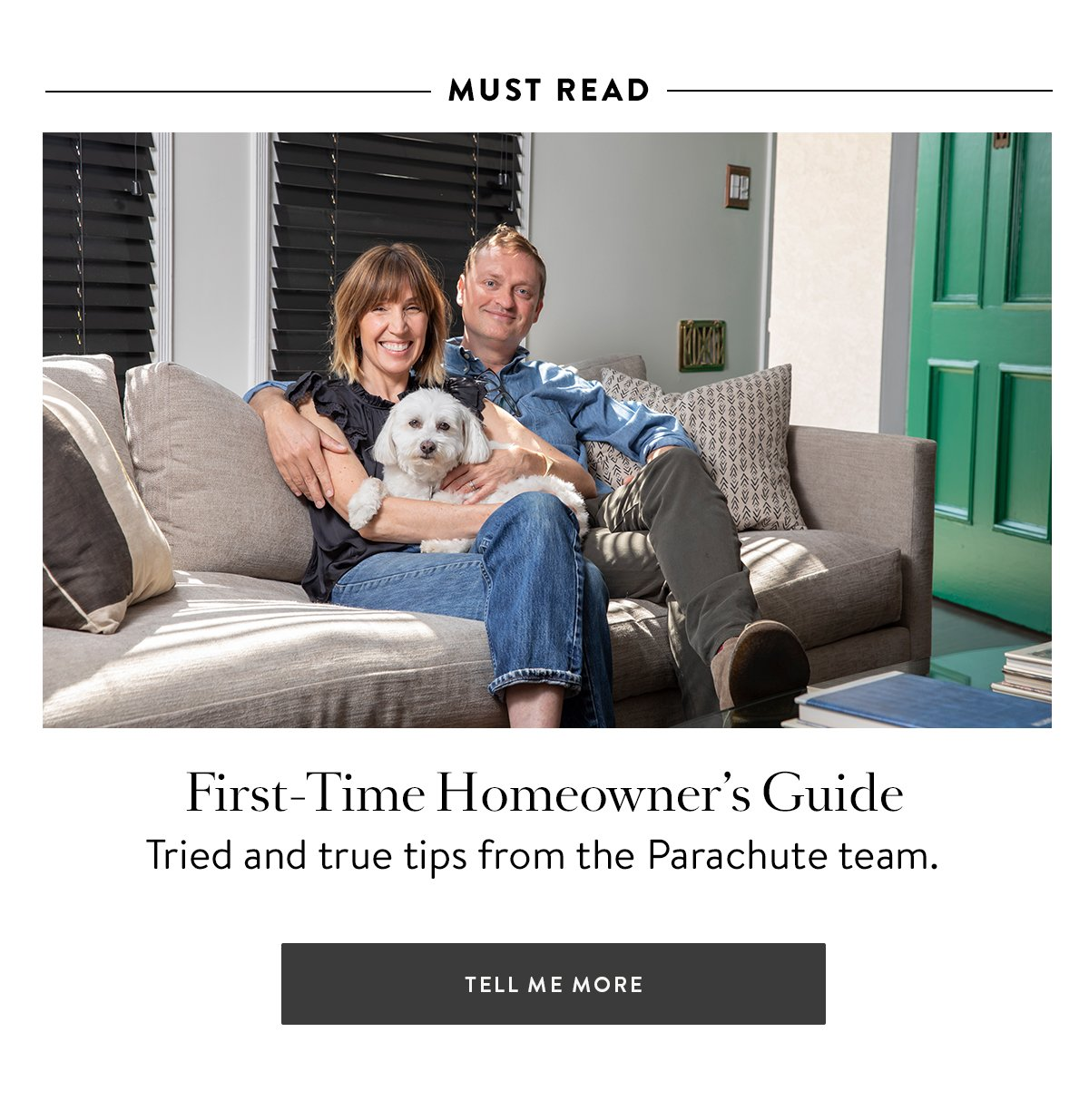 First-Time Homeowner's Guide