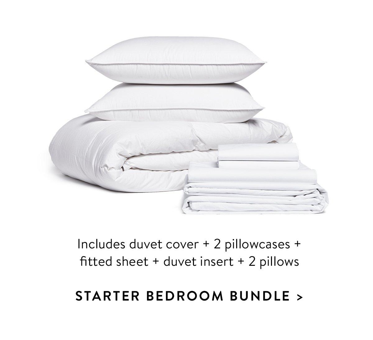 Starter Bedroom Bundle
