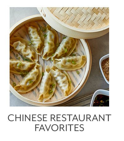 Chinese Restaurant Favorites