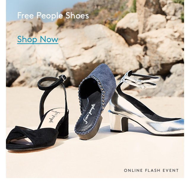Free People Shoes | Shop Now | Online Flash Event