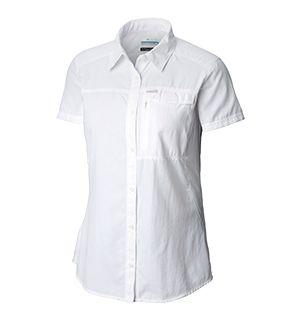 Womens Silver Ridge Shirt in white