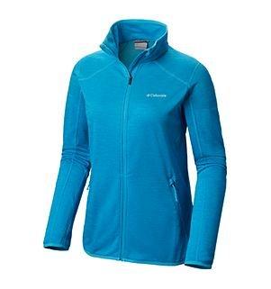 Womens Sapphire Trail Fleece Jacket in blue
