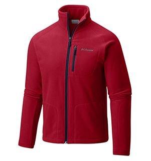 Mens Fast Trek II Fleece in red