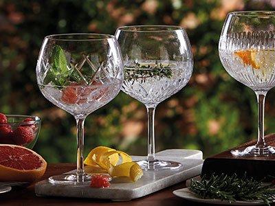 Gin Journeys Balloon Wine, Set of 4