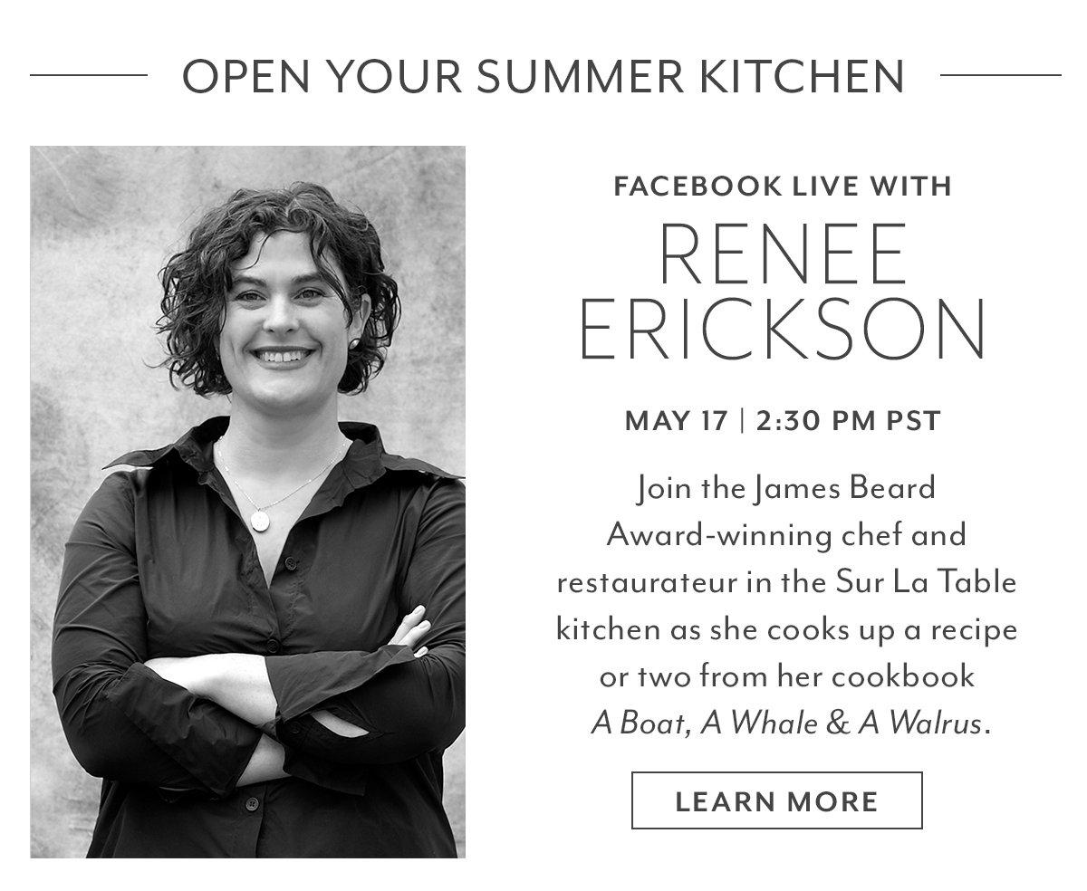 Facebook Live with Renee Erickson