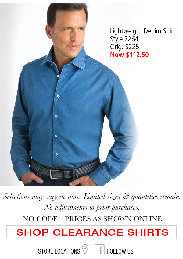 Classic Fit Sport Shirts in Clearance