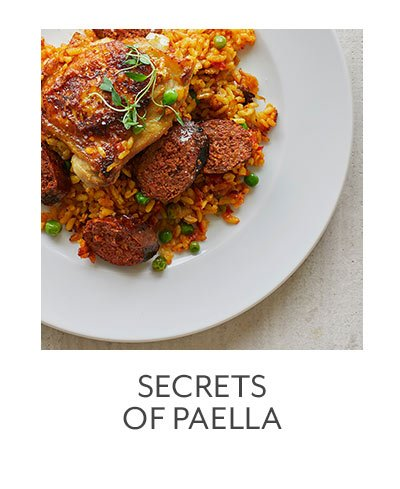 Secrets of Paella