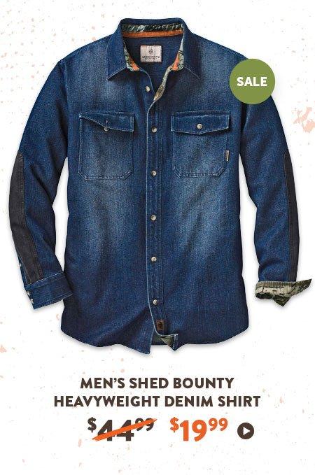 Men's Shed Bounty Heavyweight Denim Shirt
