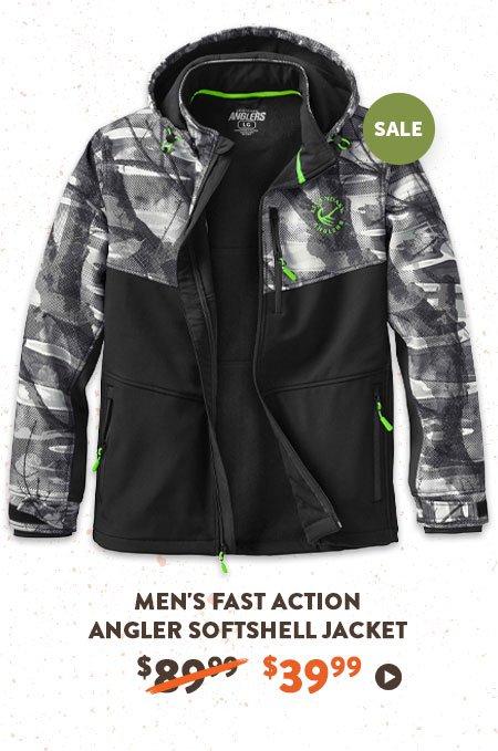 Men's Fast Action Angler Softshell Jacket