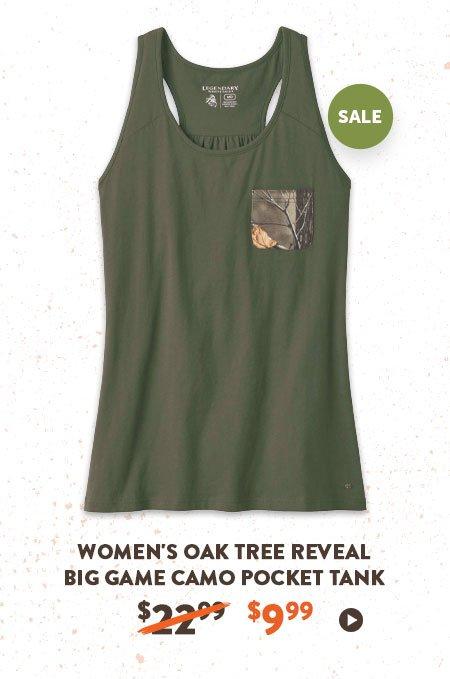 Women's Oak Tree Reveal Big Game Camo Pocket Tank