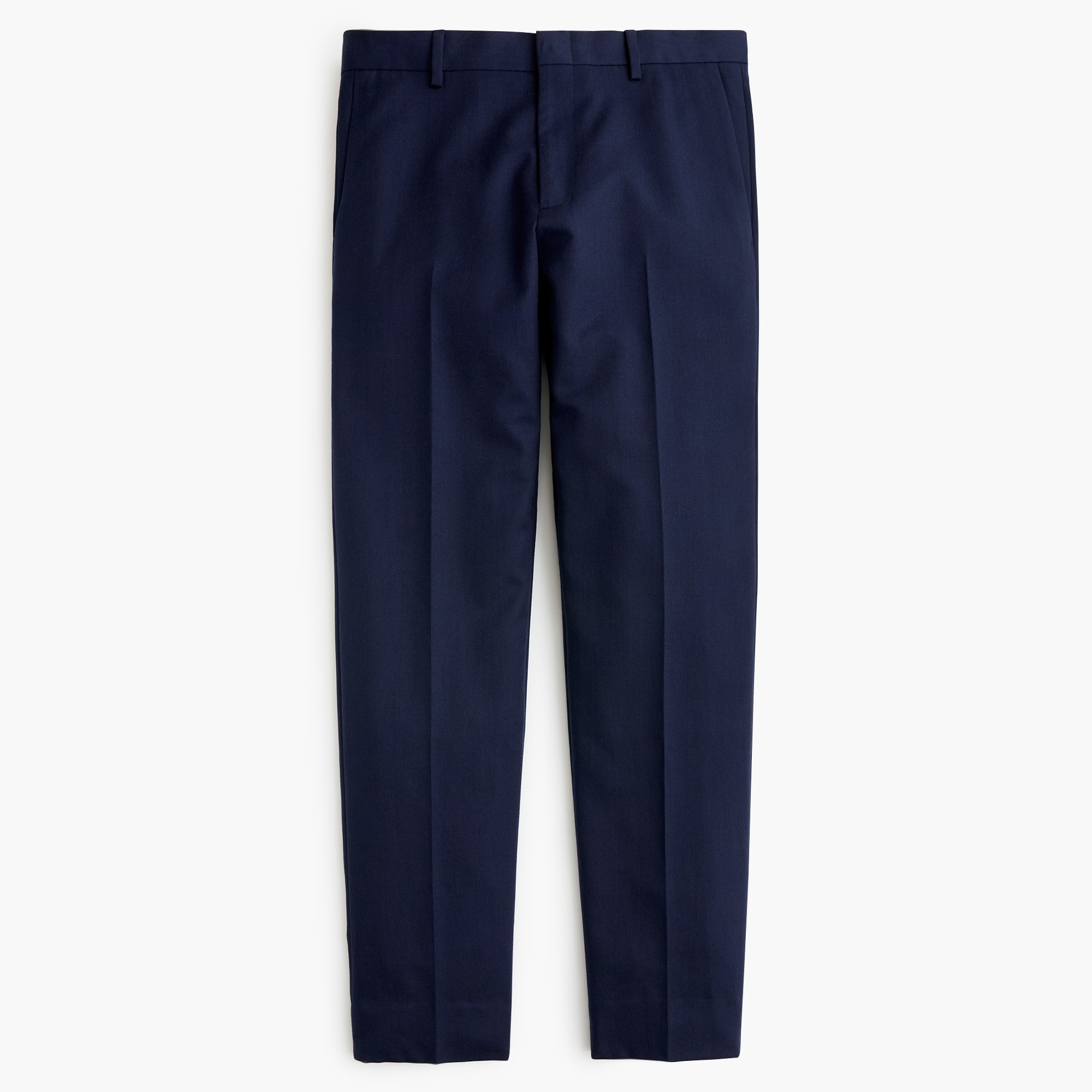 Ludlow Slim-fit unstructured suit pant in English wool-cotton twill
