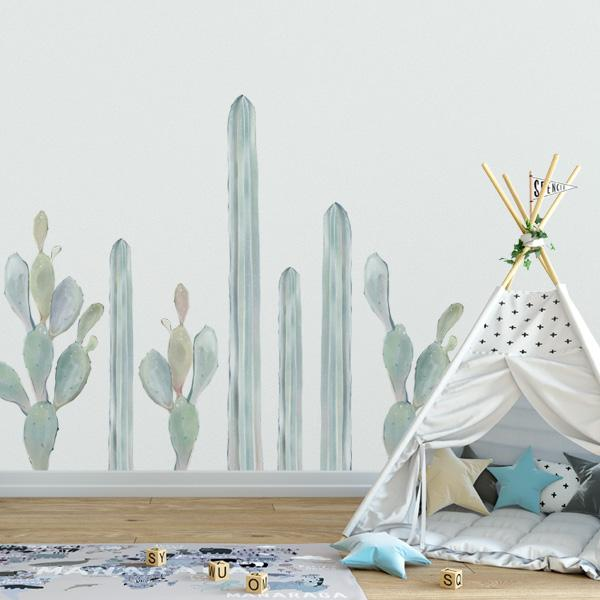 Image of Cactus Collection Wall Decals