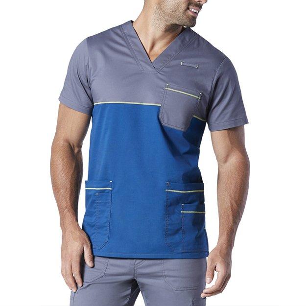 58e587e2861 Men's Essential Allure V-Neck Scrub Top