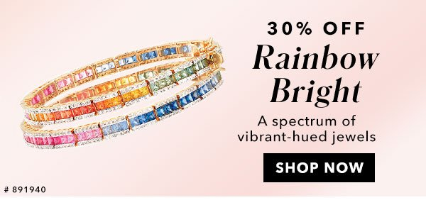 30% Off Rainbow Bright