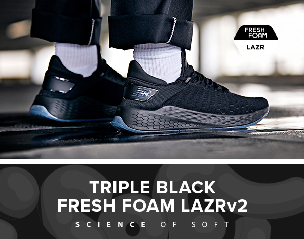 new balance fresh foam lazr v2