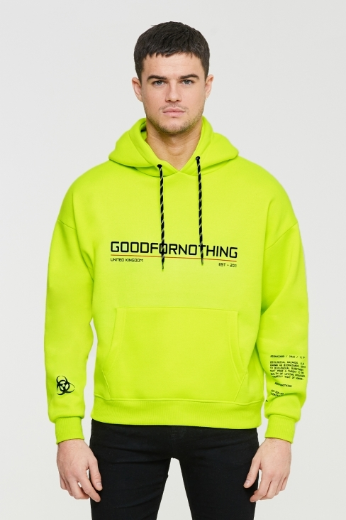 Charge Oversized Neon Hood
