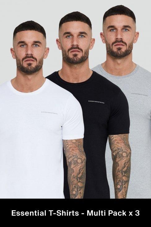 Essential T-Shirts - Multi Pack x 3