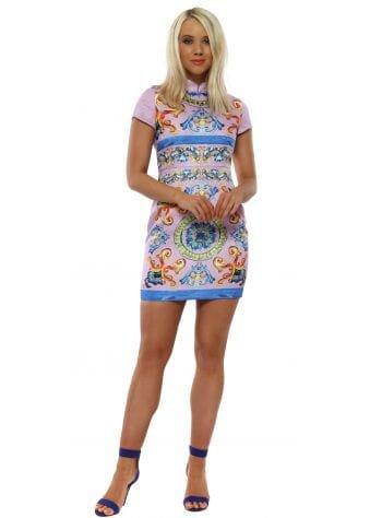 Lilac China Doll Mini Dress