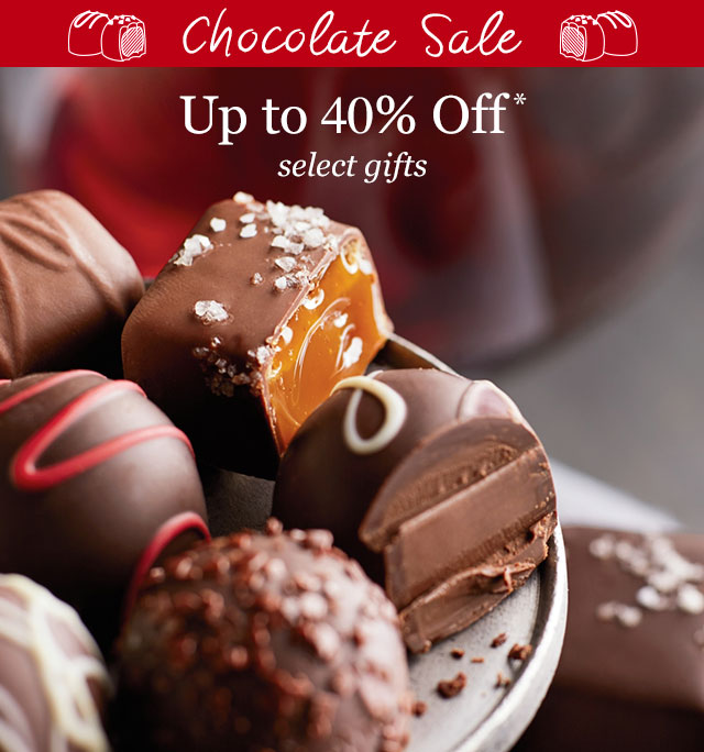 Chocolate Sale - Up to 40% OFF