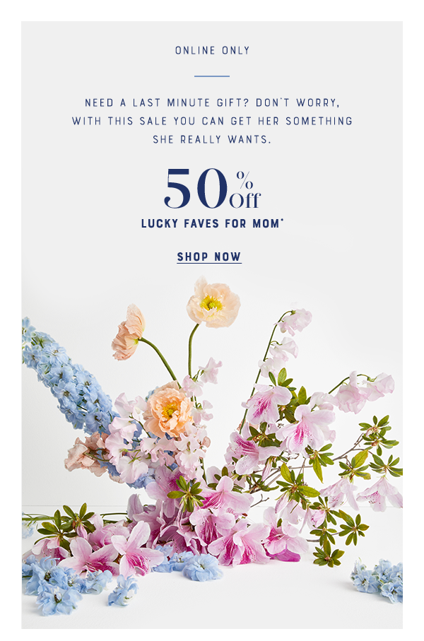 50% Off For Mom