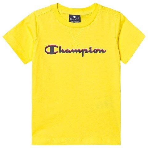 Champion Yellow Branded T-Shirt