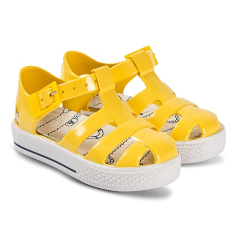 Igor Yellow Tennis Jelly Sandals