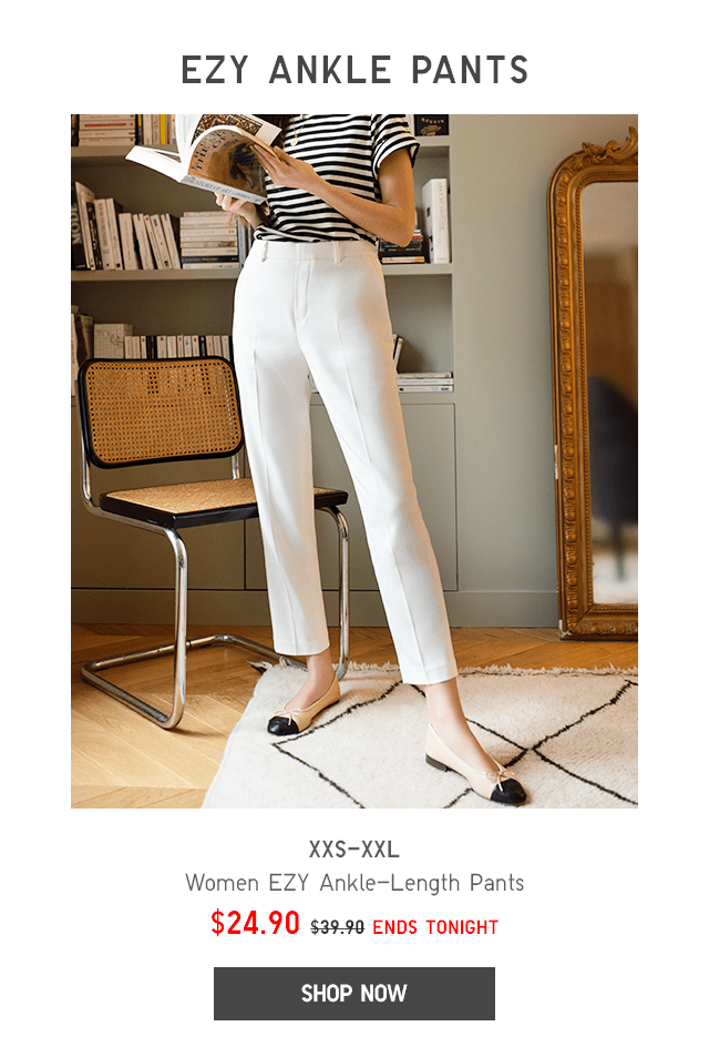 BODY4 - WOMEN EZY ANKLE-LENGTH PANTS