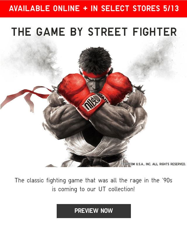 BANNER2 - PREVIEW UT THE GAME BY STREET FIGHTER