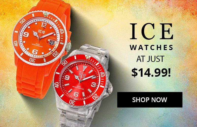 Ice Watches at Huge Savings