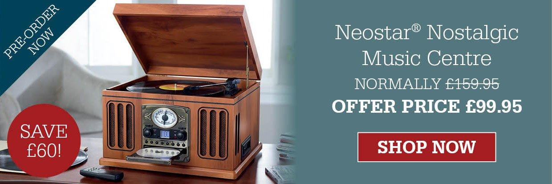 Neostar® Nostalgic Music Centre