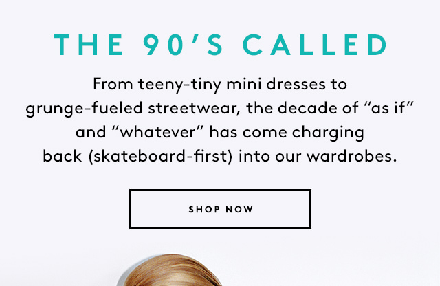 Featuring Area, Versace, and more.