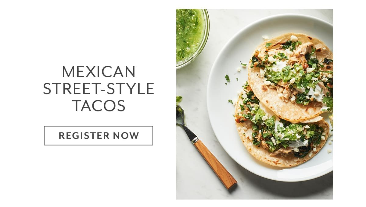 Class - Mexican Street-Style Tacos