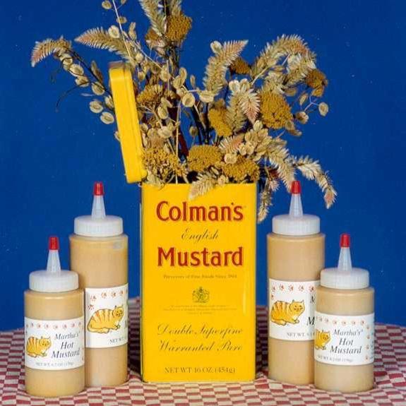 Martha's Hot Mustard Large Bottles