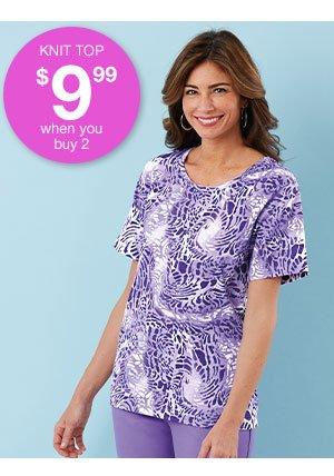Shop Women's Safari Knit Top!