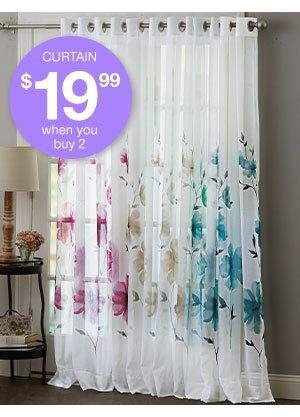Shop Semi Sheer Grommet Curtain Panel!