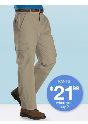 Shop Men's 7 Pocket Cargo Pants!