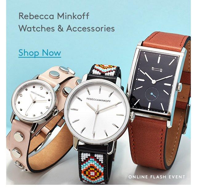 Rebecca Minkoff | Watches & Accessories | Shop Now | Online Flash Event