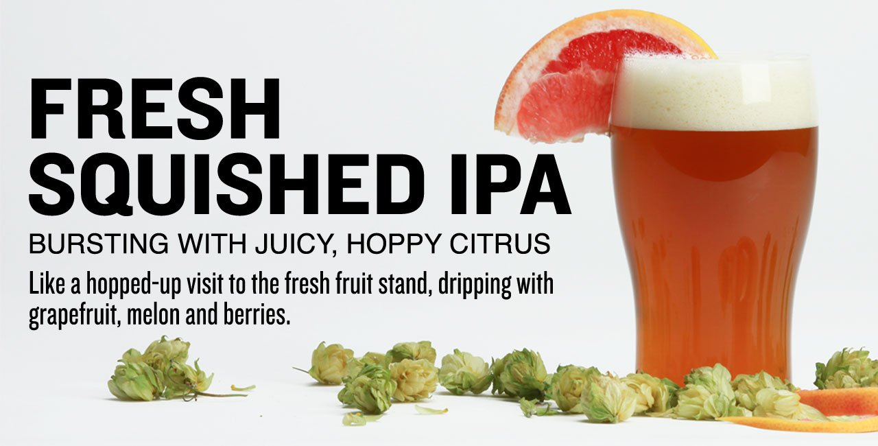 Fresh Squished IPA All-Grain Beer Kit