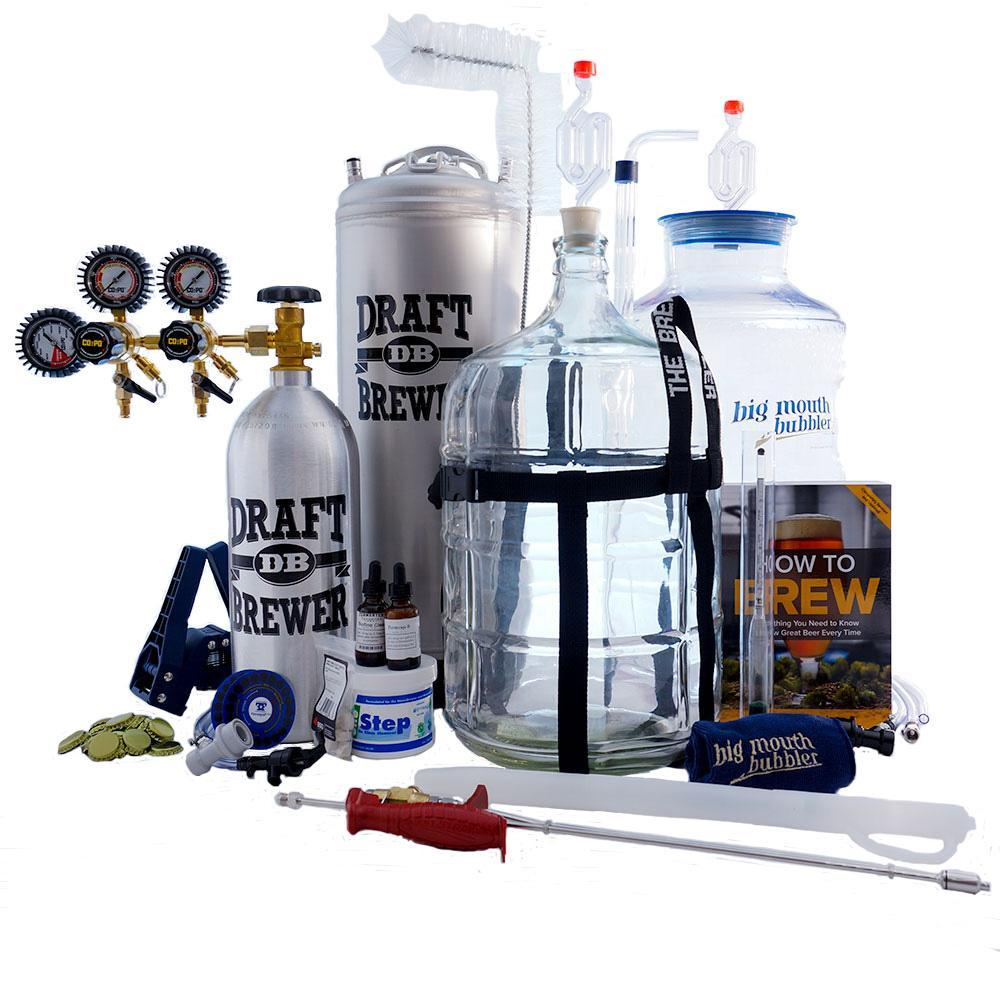 Master Brewer's Equipment Kit with Draft Brewer® 2.0