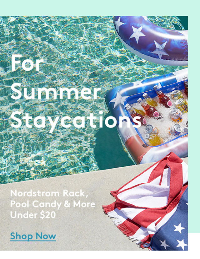 For Summer Staycations | Nordstrom Rack, Pool Candy & More Under $20 | Shop Now