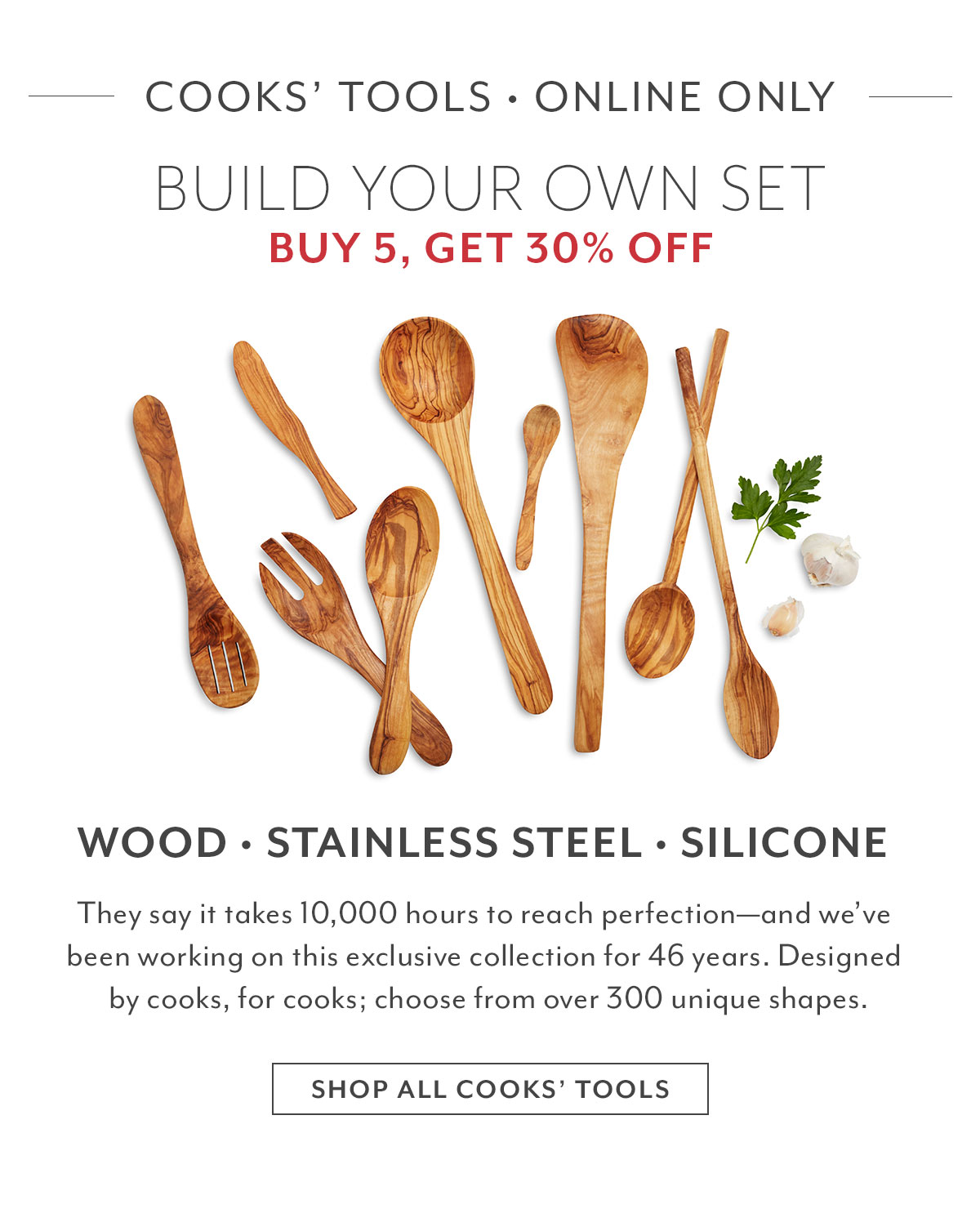 Cooks' Tools  Build Your Own Set