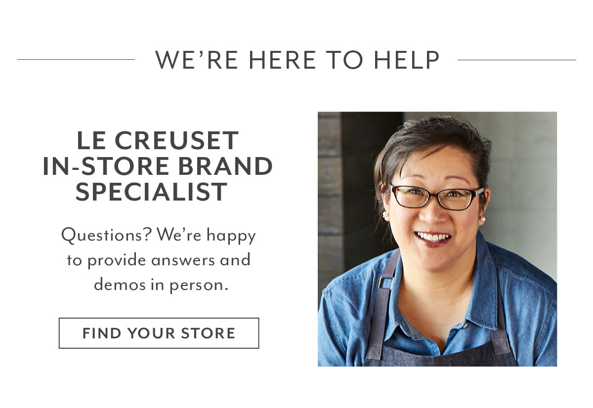 Le Creuset In-Store Brand Specialist