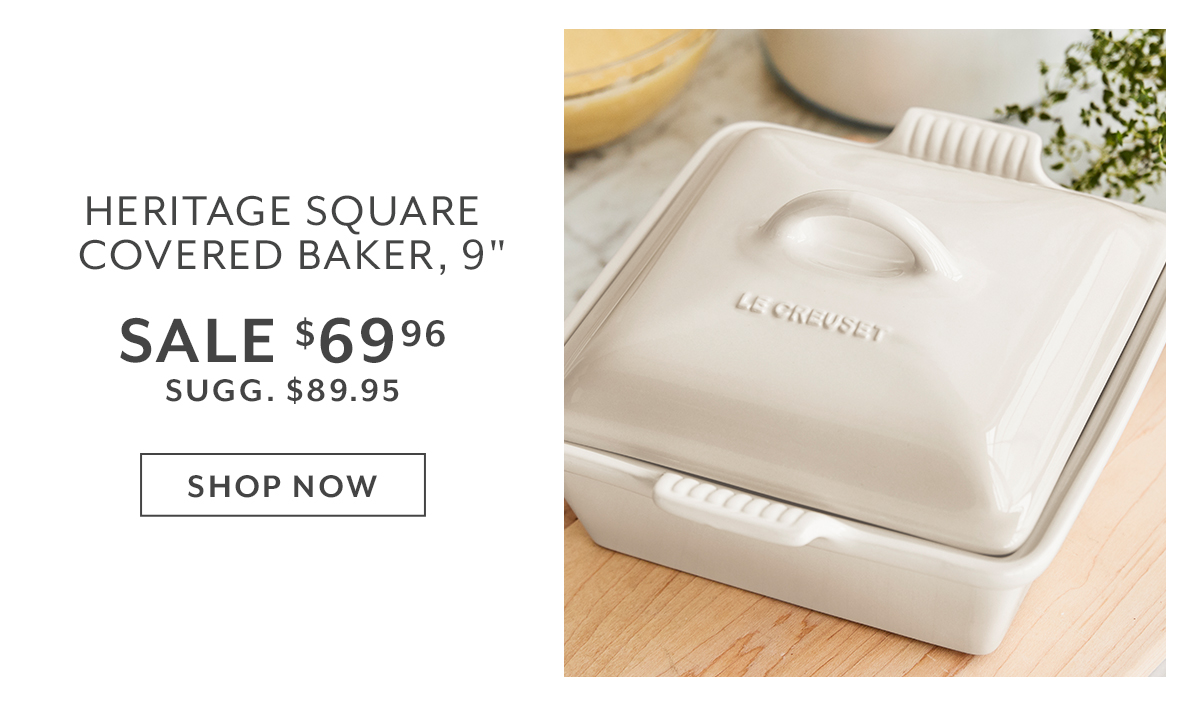 Le Creuset Heritage Square Covered Baker, 9
