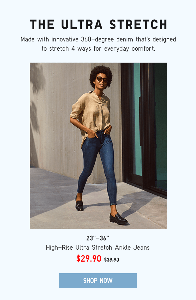 BODY1 - WOMEN HIGH-RISE ULTRA STRETCH ANKLE JEANS