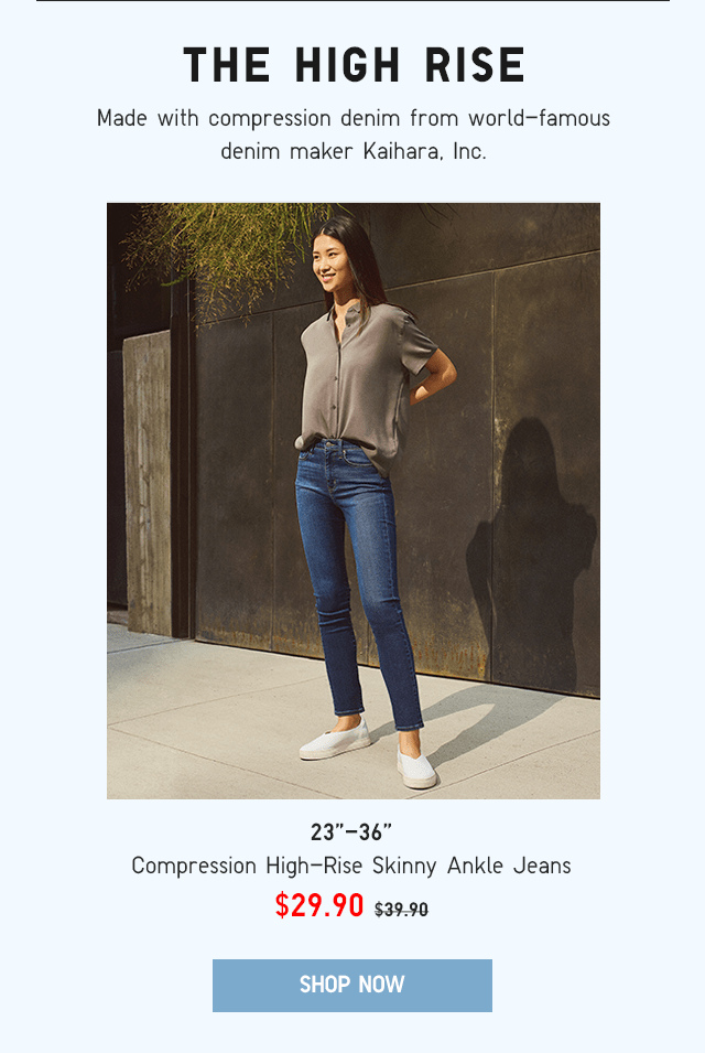 BODY6 - WOMEN COMPRESSION HIGH-RISE SKINNY ANKLE JEANS